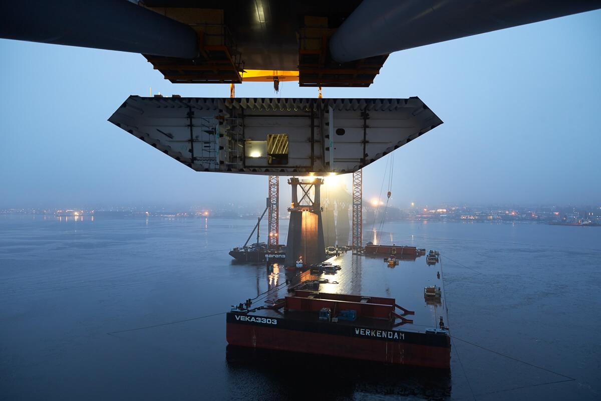 Brobygget i Sundsvall